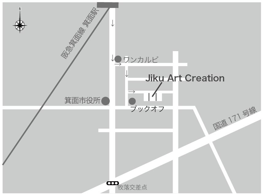 Main Office / The Glass Art Studio accessmap